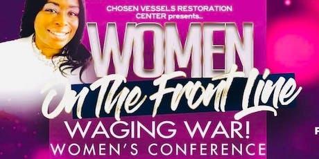 Women On The Frontline Waging War tickets