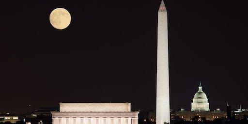 Sunday Night Full Moon Walk: National Mall Monuments & Memorials