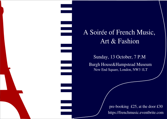 A Soirée of French Music, Art and Fashion