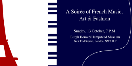 A Soirée of French Music, Art and Fashion tickets