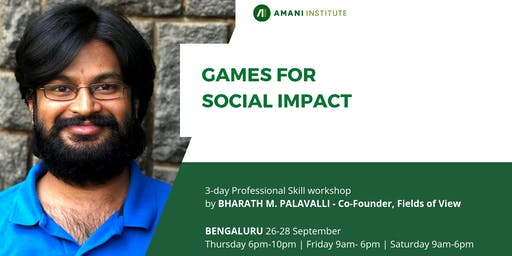 Open session: Games for Social Impact
