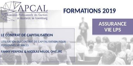 LPS - le Contrat de Capitalisation tickets