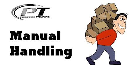 Manual Handling Training-Galway - 14th JAN 7.00pm - Menlo Park tickets