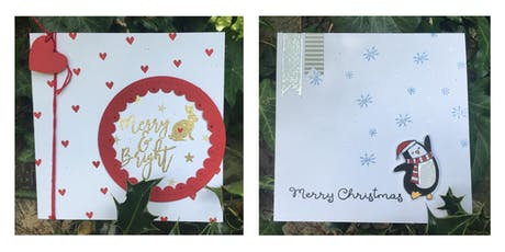 Fabulous Festive Christmas Card Makes with Afternoon Tea Included tickets