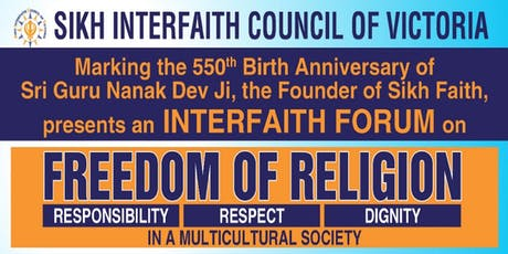 Forum on Freedom of Religion tickets