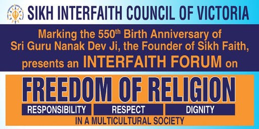 Forum on Freedom of Religion