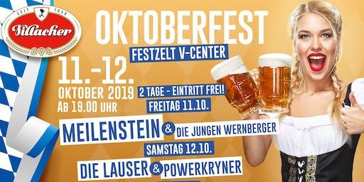 Villacher Oktoberfest- Freitag- Im Festzelt am V-Center Parkplatz