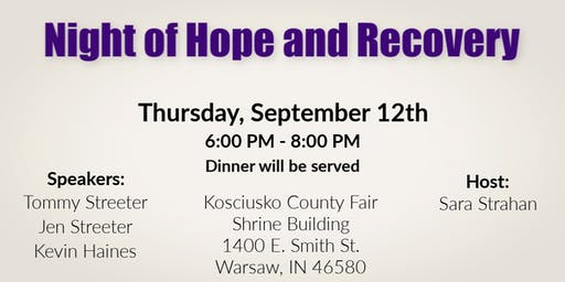 Night of Hope and Recovery