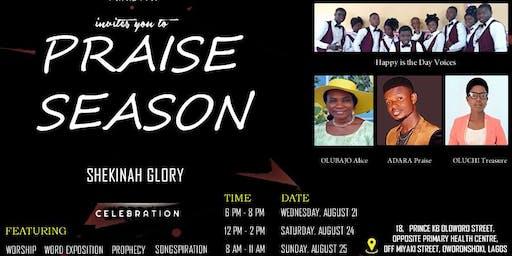 Praise Season (Episode One, titled Shekinah Glory)