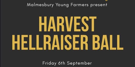 Malmesbury YFC Harvest Hellraiser Ball 2019 tickets
