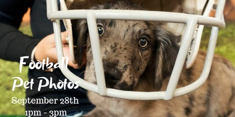 FREE Football Pet Photos tickets