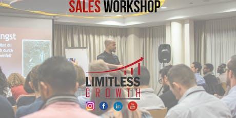 Sales Workshop- Damit auch DU grenzenlos wachsen kannst Tickets