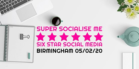 Super Socialise Me - Birmingham tickets