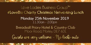 Derby #LoveBiz Christmas Networking Lunch Event