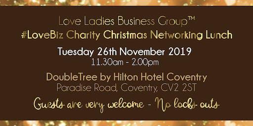 Coventry #LoveBiz Christmas Networking Lunch Event