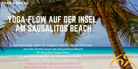 Let's do it outside - Yoga auf der Praterinsel Tickets