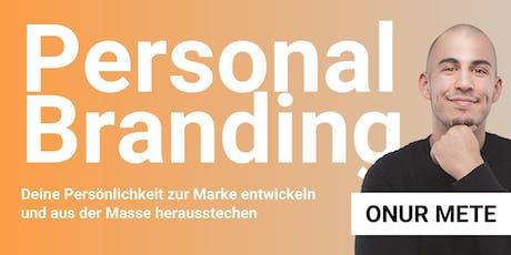 Personal Branding für UnternehmerInnen:  tickets