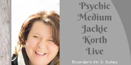 Evening with Psychic Medium Jackie Korth tickets