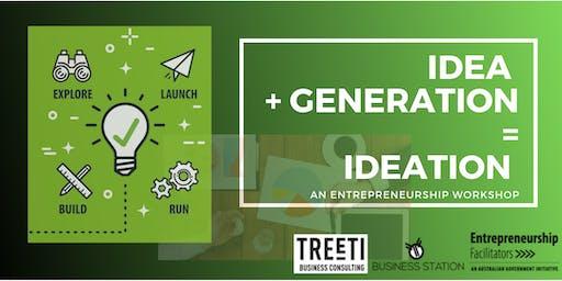 Idea + Generation = Ideation, Entrepreneurs thinking session