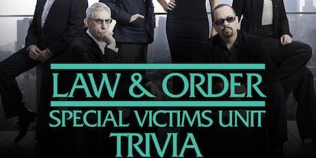 Law & Order: SVU Trivia tickets