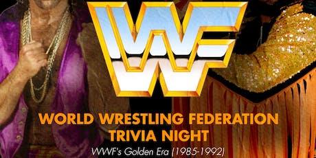 WWF (Golden Era 1985-1992) Trivia tickets