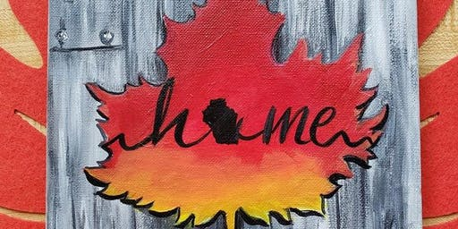 Home Maple Leaf-paint night