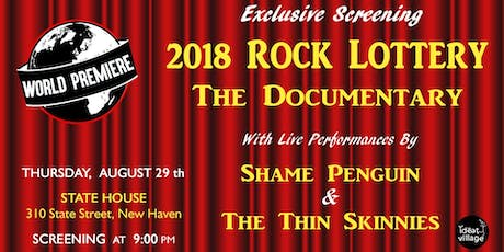 Rock Lottery Documentary - World Premiere Screening tickets