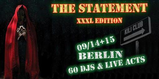 The Statement - XXXL Edition - Birthday Beat Bash