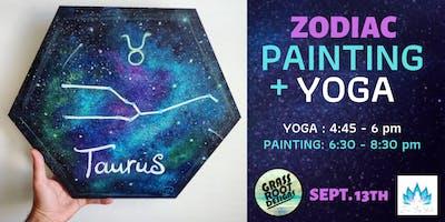 Zodiac Sign | Painting + Yoga at Zen Yoga!