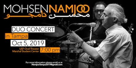 Mohsen Namjoo Live in Tampa, Florida tickets