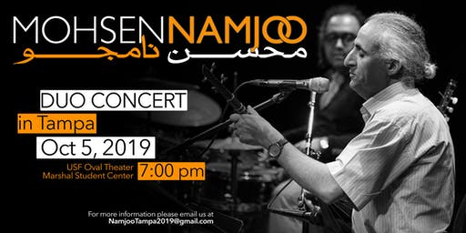 Mohsen Namjoo Live in Tampa, Florida