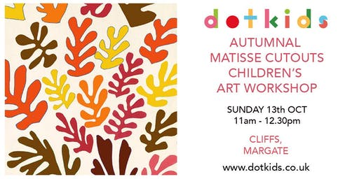 Autumnal Matisse Cutouts Children's Art Workshop ( class for kids )