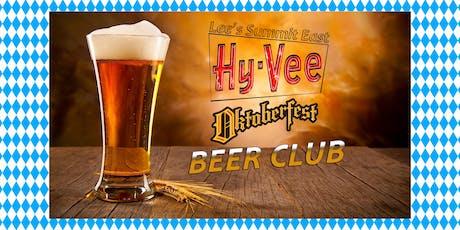Oktoberfest Beer Club tickets