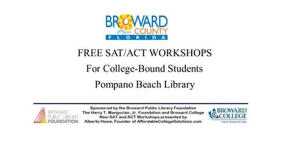 Free SAT/ACT Workshops - Juniors and Seniors only