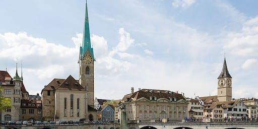 Fraumünster Zurich, Sunday Service with Baptism- 25 August 10:00am