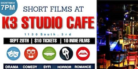 SHORT FILMS AT K3 STUDIO CAFE tickets