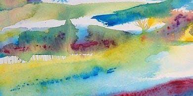 Experimental Watercolours:  Workshop with Zarina Keyani