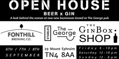 Open House - Gin & Beer festival with two new businesses in Tunbridge Wells