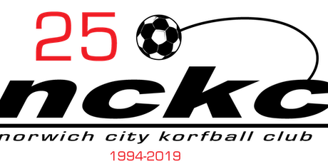 Norwich City Korfball Club is 25 Reunion Party tickets