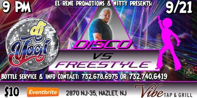 Freestyle Vs. Disco with DJ Yogi