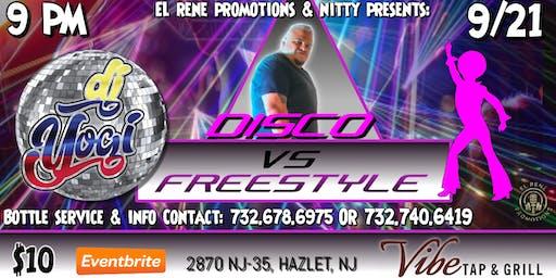 Freestyle Vs. Disco with DJ Yogi