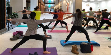 September 14 Burn Series - Free Yoga Class at Ballston Quarter tickets