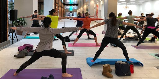 September 14 Burn Series - Free Yoga Class at Ballston Quarter