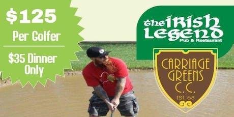 The Irish Legend Golf Tournament 2019 tickets