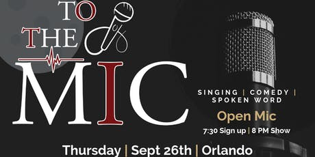 Open Mic in Orlando tickets