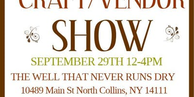 The Well's Craft/Vendor Show