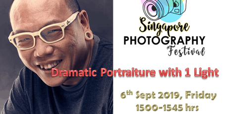 Seminar Talk: Dramatic Portraiture with 1 Light tickets