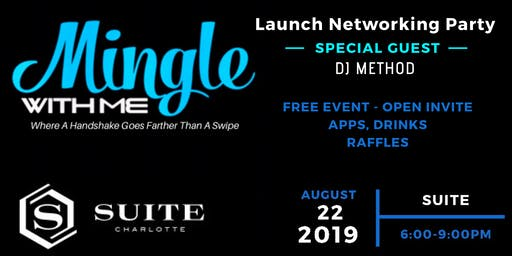 MingleWithMe Launch Networking Party