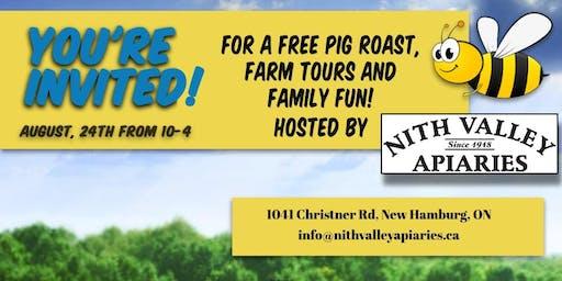 Free NFU pig roast and farm tour