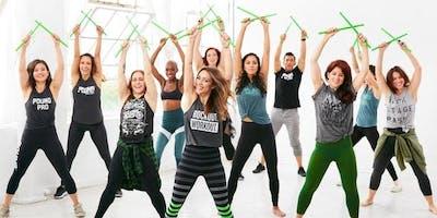 Court Yard Fitness - POUND Rockout Workout